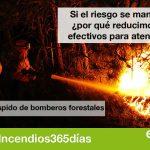 Pedimos que se amplíe el periodo de alto riesgo de incendio en Andalucía