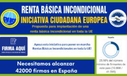 Firma la iniciativa ciudadana europea por la renta básica incondicional