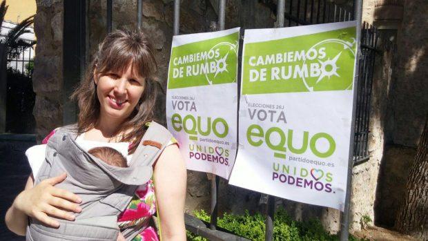 Nuestra candidata por Jaén, Pepa Jiménez.