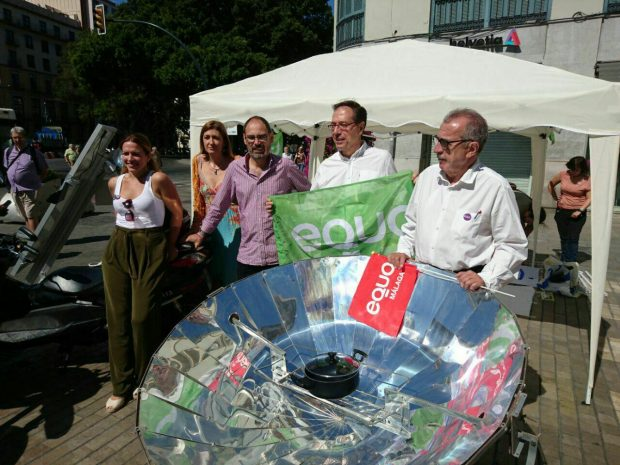 Acto sobre energías verde en Málaga.