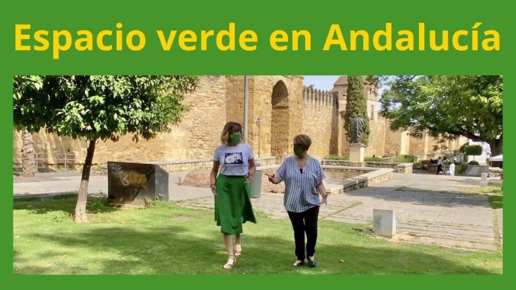 Imagen espacio verde en Andalucía