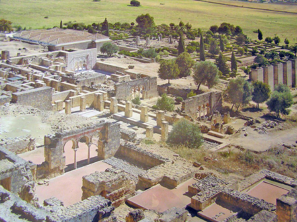Vista del conjunto arqueológico./ medinaazahara.org