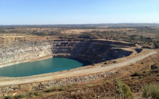 Imagen de archivo de la mina de Aznalcóllar./