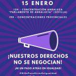 Lamentamos el retroceso que supondrá el nuevo Gobierno en Andalucía