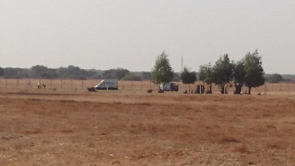 Los trabajos en la zona del camino de los Tanajales han comenzado esta mañana./ @wwfespana