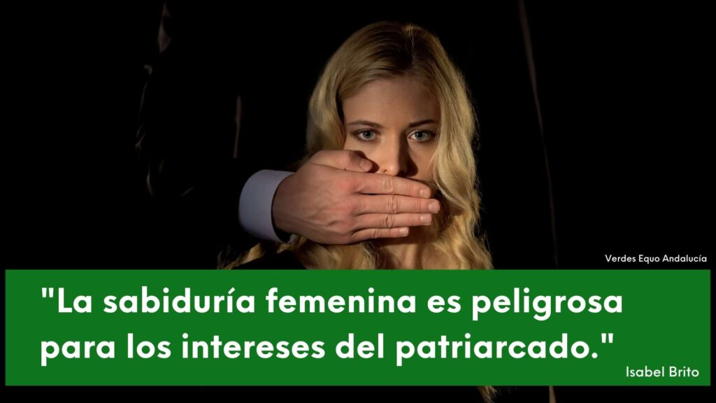Imagen silenciando la sabiduría femenina