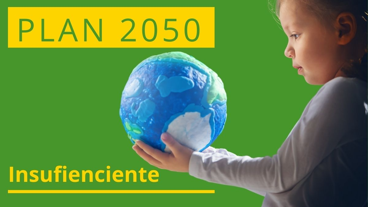 Imagen plan 2050 insuficiente
