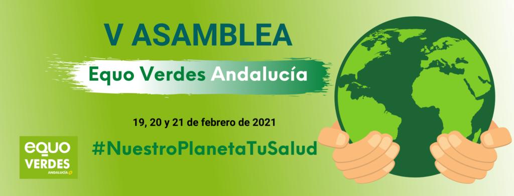 banner V Asamblea Verdes Equo Andalucía