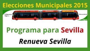 imagen programa electoral Verdes Equo Sevilla Elecciones Municipales 2015