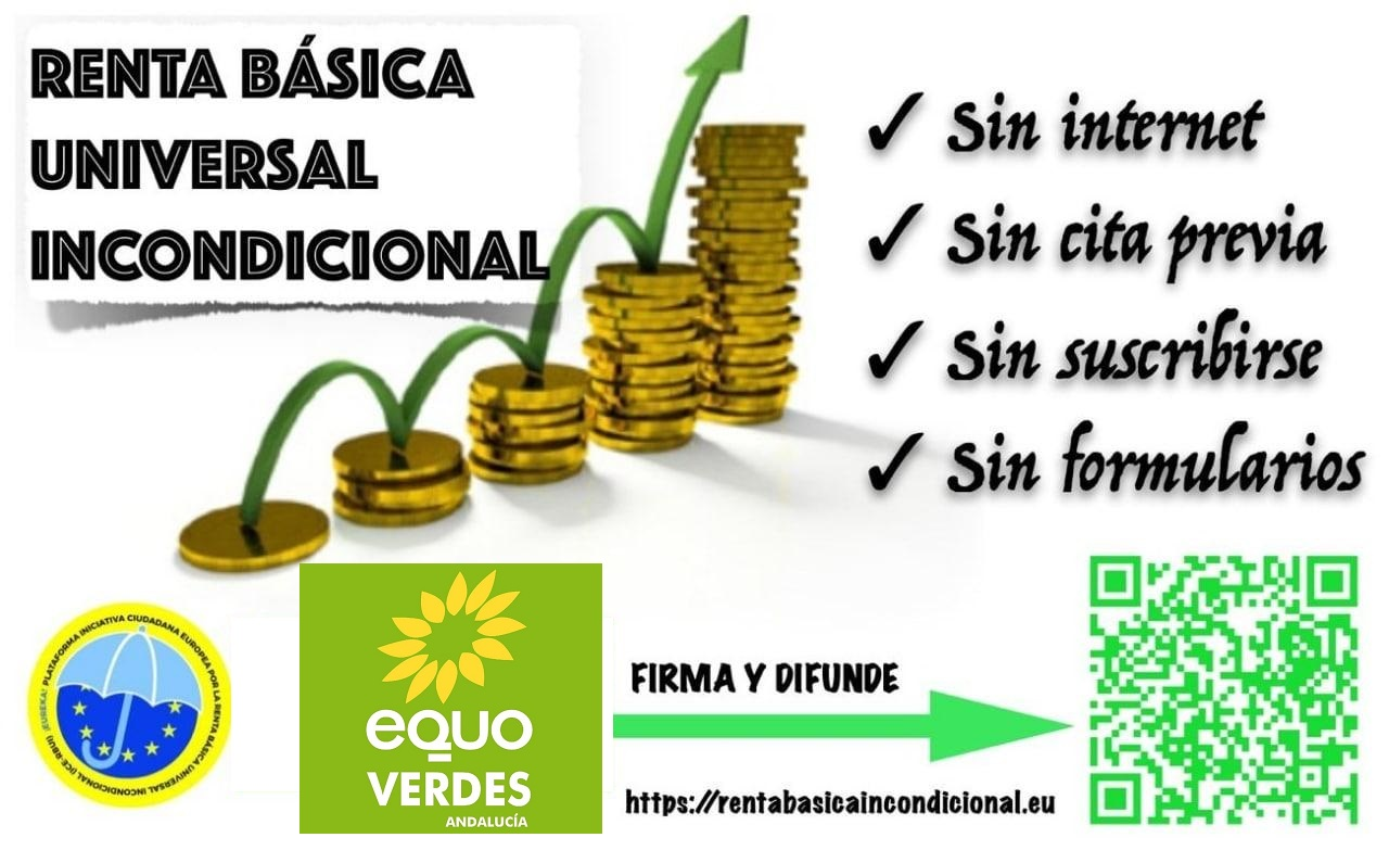 firma renta básica universal europea