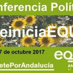 Conferencia política: el lugar donde decidiremos cómo concurrimos a las elecciones andaluzas