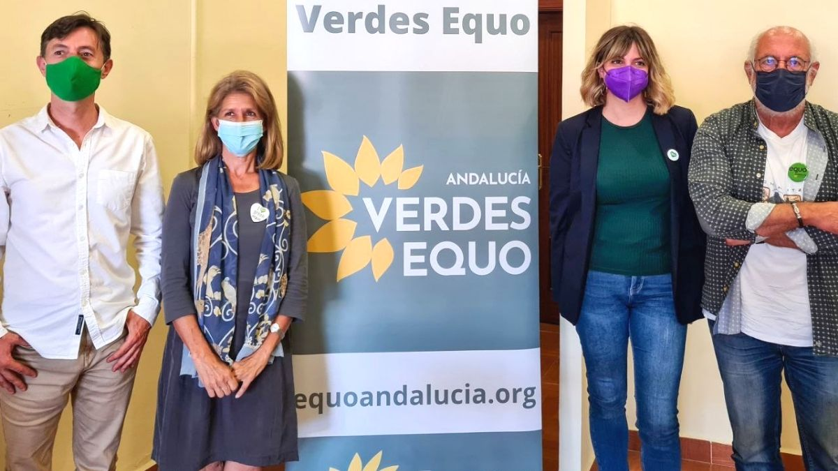 Foto parte de la Ejecutiva Verde Andaluza