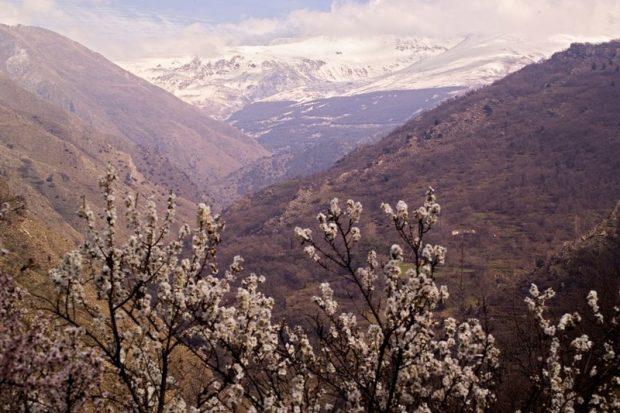 Vista del Parque Nacional de Sierra Nevada.