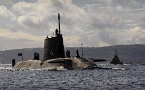 Preguntamos al Gobierno por los submarinos nucleares que llegan a Gibraltar