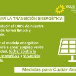 EQUO Verdes-Iniciativa Andalucía apuesta porque la transición energética sea una prioridad en la agenda política