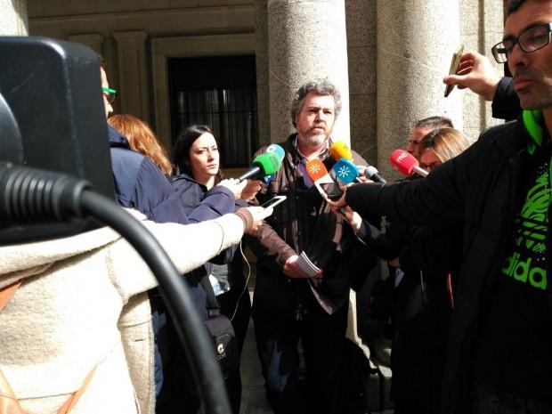 Juantxo López de Uralde en Huelva por los fosfoyesos