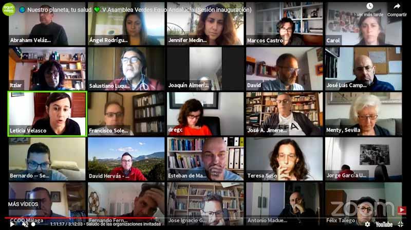 Imagen foto V Asamblea Verdes Equo Andalucía online